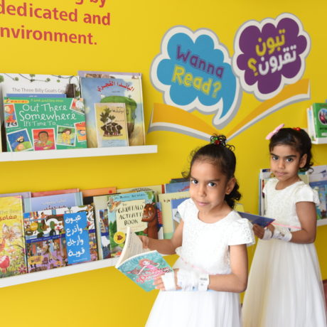 """Wanna Read?"" Initiative at Saqr Hospital"