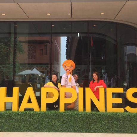 """""""Wanna Read?"""" Happiness at Masdar Institute"""