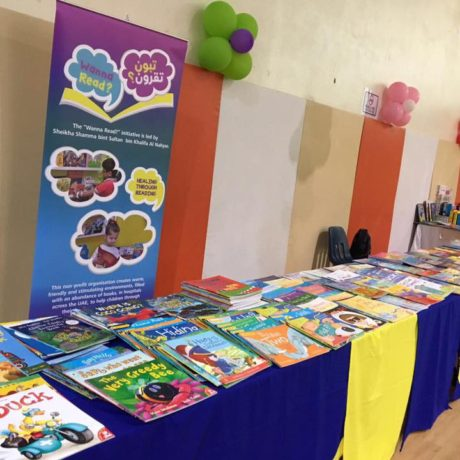 """Wanna Read Book Fair at Al Ittihad National Private School"