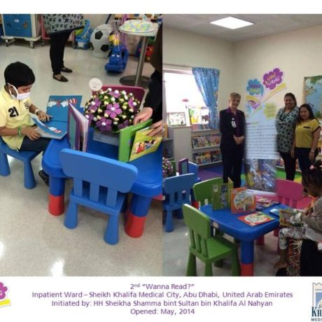 """Wanna Read?"" rooms for children across the UAE"