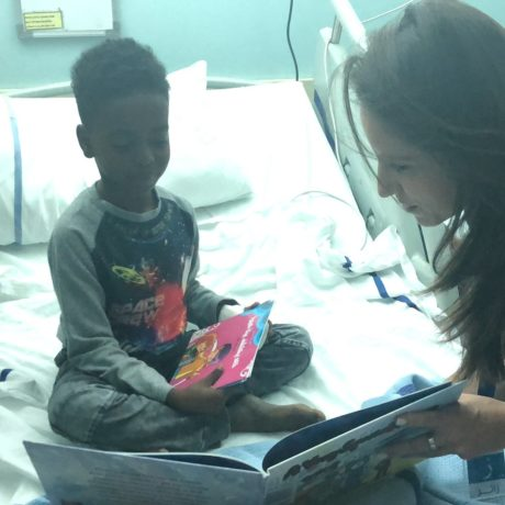 """Wanna Read?"" Volunteers visit Latifa Hospital Dubai"
