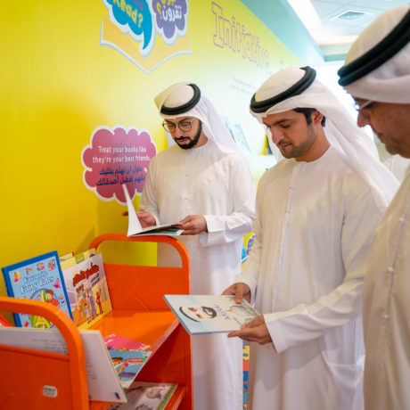Department of Community Development Storytelling to the young patients at NMC Royal Hospital, Khalifa City